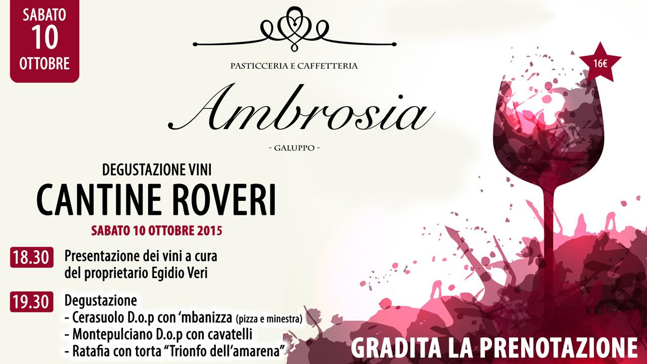 Evento Rosso Ambrosia