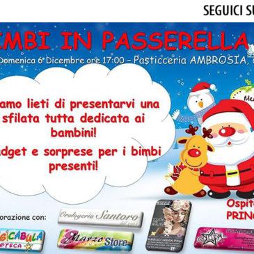 """Evento """"Bimbi in Passerella da Ambrosia"""""""